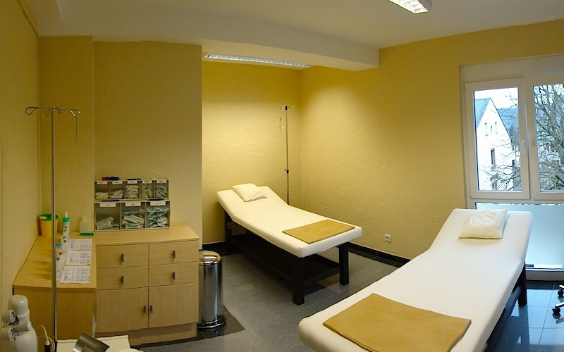 Oliver Weiss Clinic Limburg Infusion Room