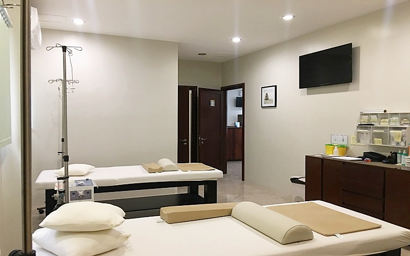 Oliver Weiss Cebu Clinic Treatment room