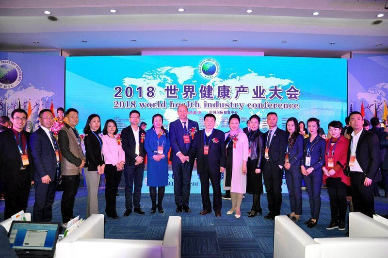 Oliver Weiss in Seventh World Health Industry Conference in China